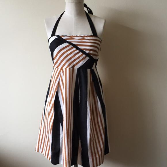 Anthropologie Dresses & Skirts - Moulinette soeurs halter stripe sun dress 6